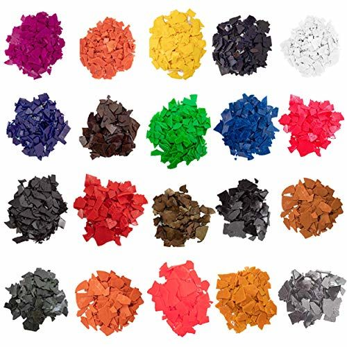Premium Candle Making Dye Chips -  Pigments for Soy Wax Candle Vegan Non-Toxic 1